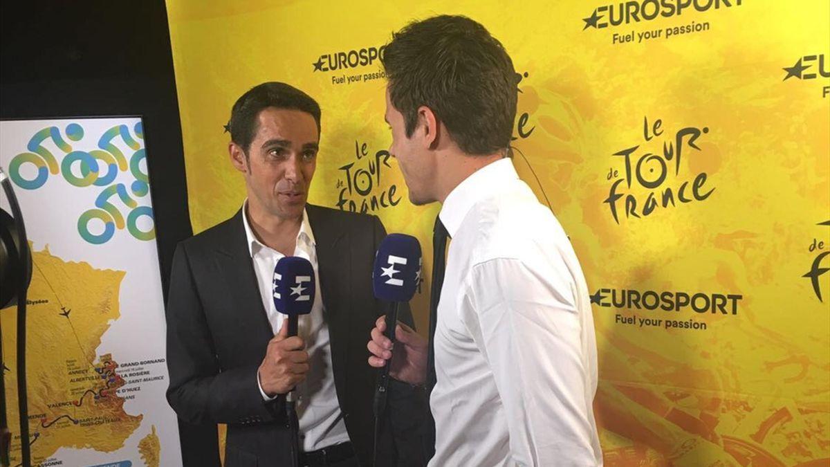 Alberto Contador, nuevo fichaje de Eurosport