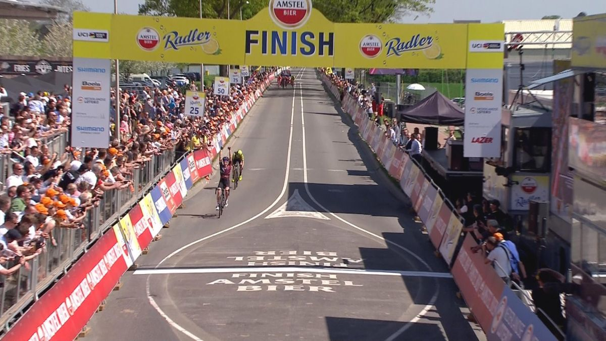 Amstel Gold Race : women finish