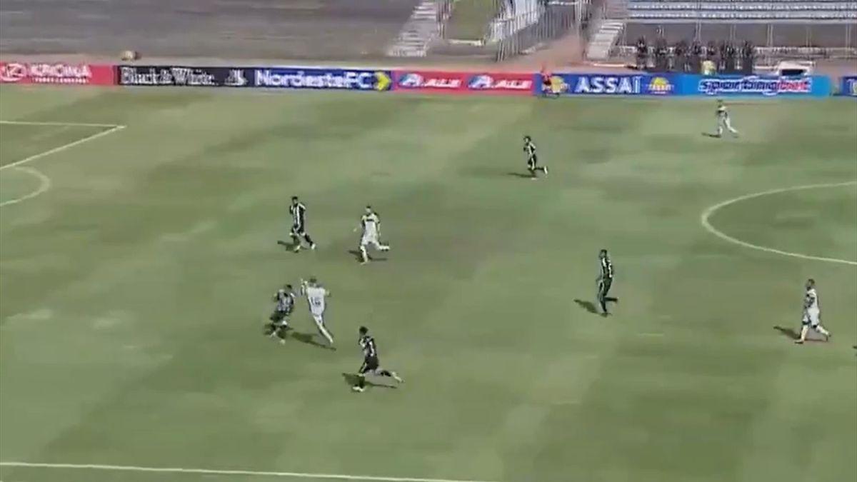 Treze-Botafogo RB (Cupa de Nord-Est din Brazilia)