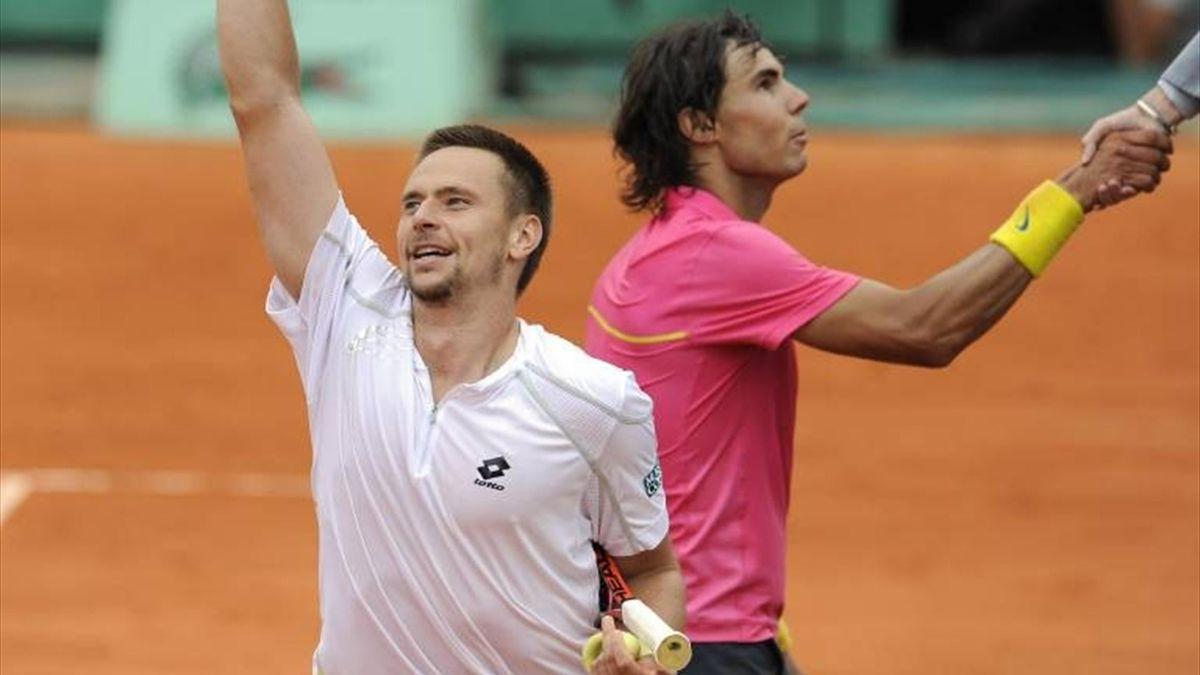 Slideshow Nadal Roland-Garros 2009 Soderling Nadal