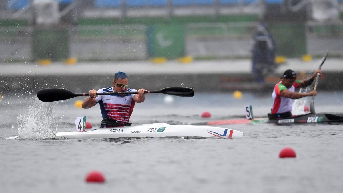 Rémy Boullé en bronze sur 200m canoë sprint KL1