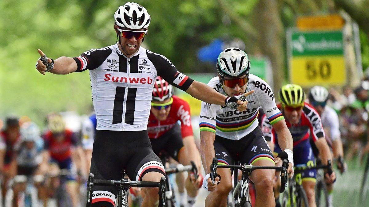 Michael Matthews y Peter Sagan, en el Tour de Suiza