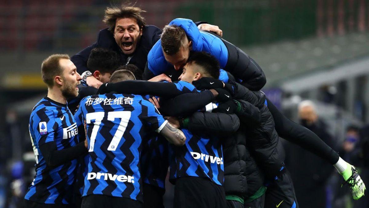 Conte - Inter-Lazio - Serie A 2020/2021 - Getty Images