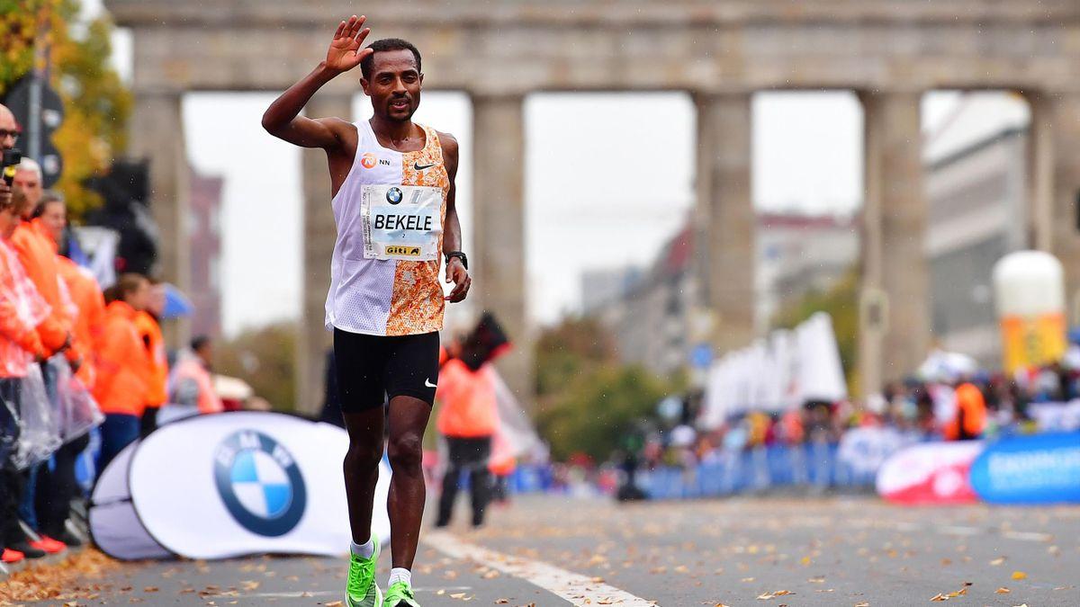 Kenenisa Bekele (Maratón de Berlín 2019)