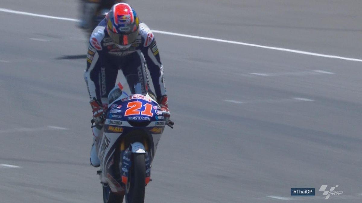 Moto 3 Thailand: Hlts Race