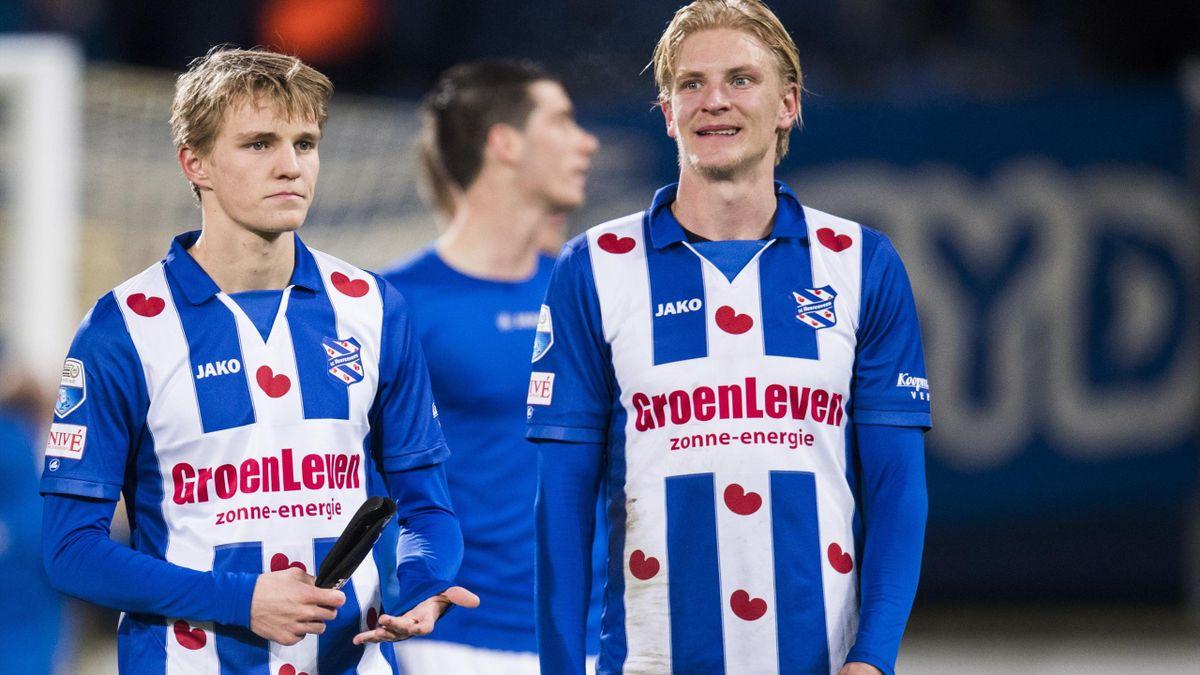 Martin Ødegaard og Morten Thorsby Heerenveen