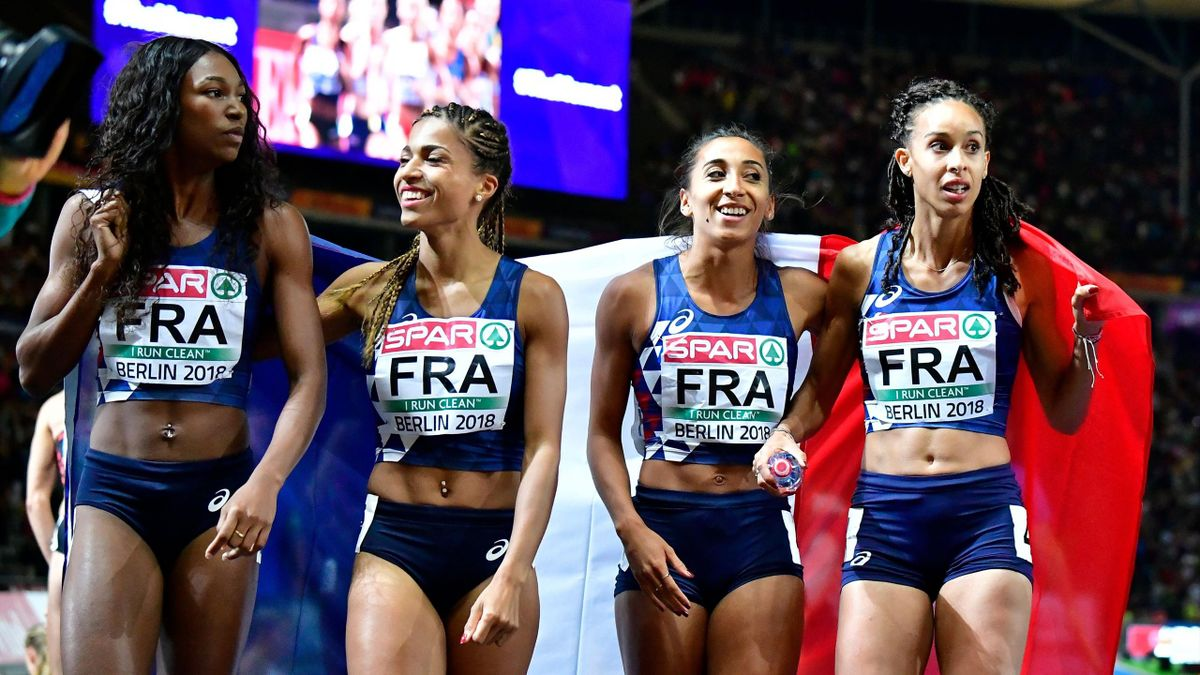 Les Françaises vice-championne d'Europe du relais 4x400m - Championnats d'Europe