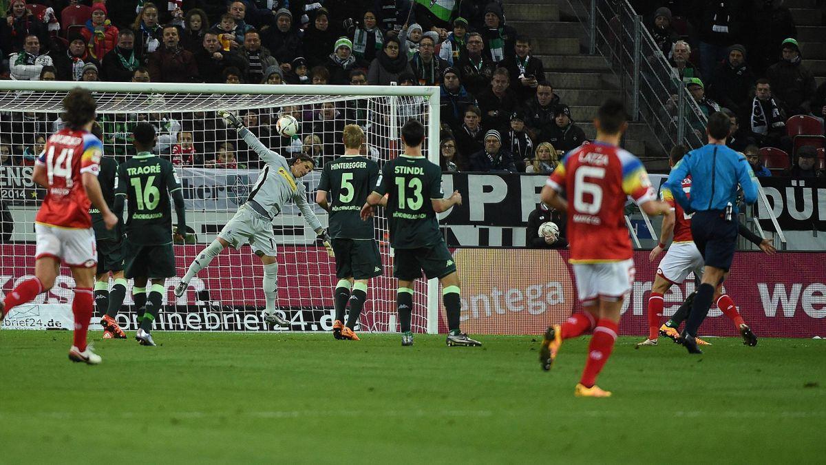 Mainz 05 gegen Borussia Mönchengladbach