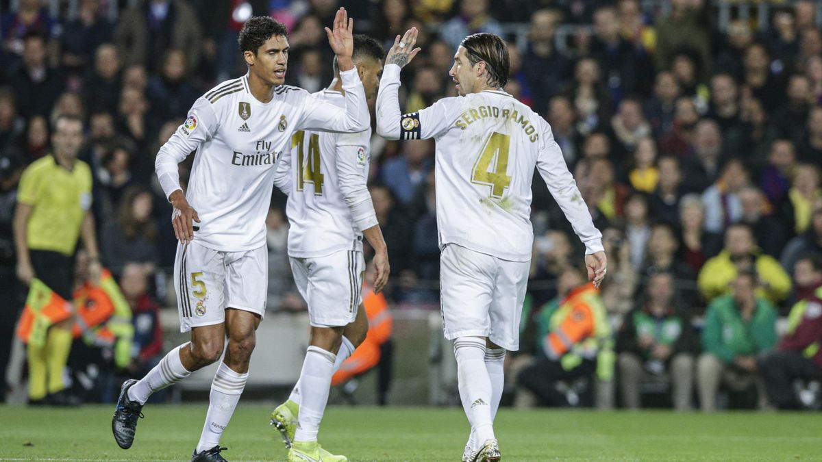 Raphaël Varane et Sergio Ramos (Real Madrid)