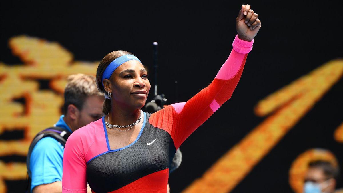 Serena Williams à l'Open d'Australie 2021