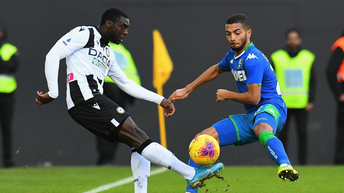 Ken Sema, Jeremy Tolian, Udinese-Sassuolo, Getty Images