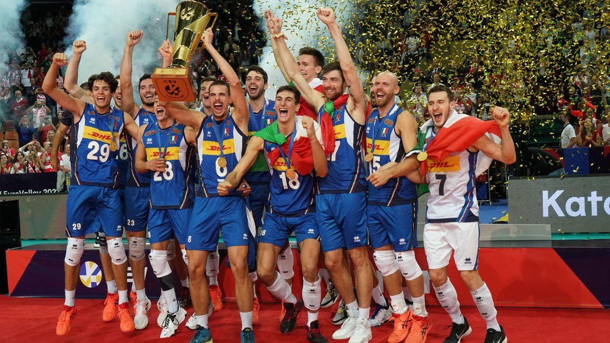 Pallavolo, Europei 2021 - Immensa Italia: campioni d'Europa dopo 16 anni,  Slovenia ko 3-2 al tie-break - Eurosport