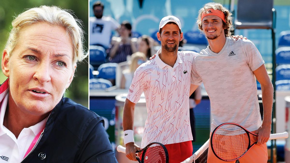 Barbara Rittner, mesaj dur pentru Djokovic și organizatorii Adria Tour