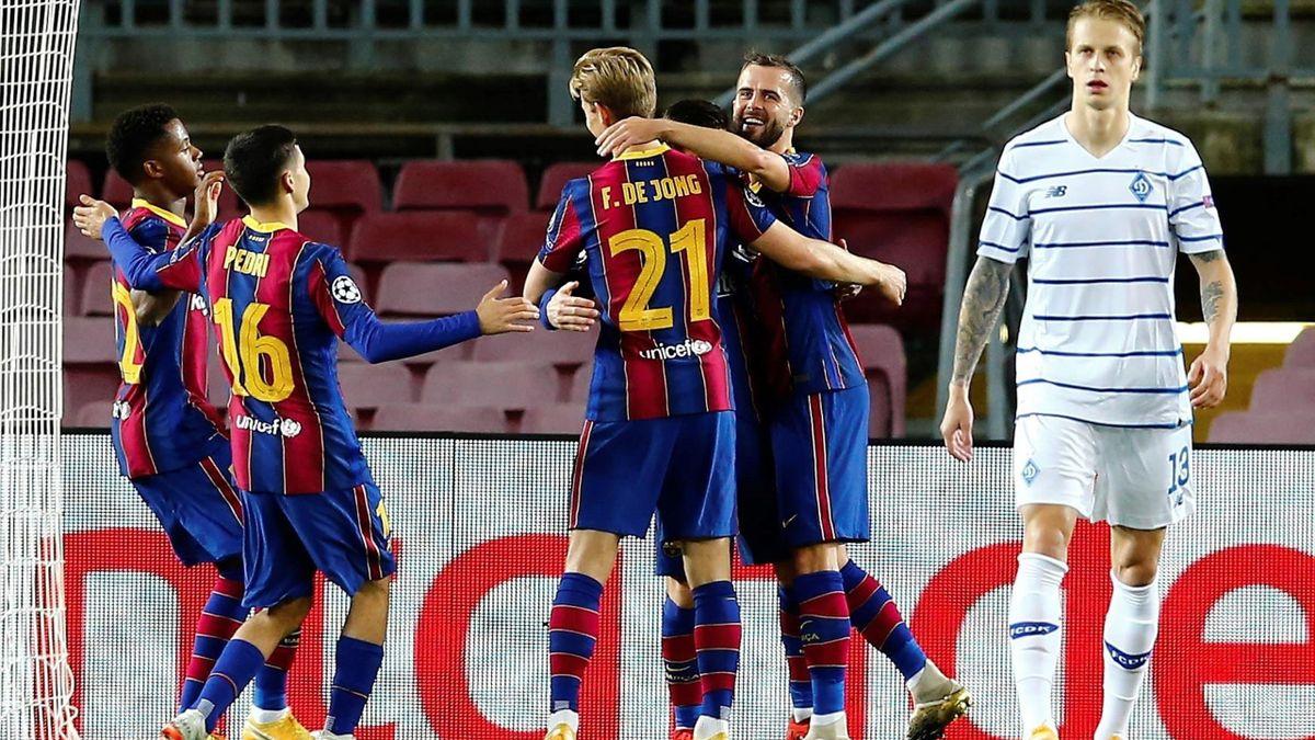 Barcelona-Dínamo de Kiev - Champions League