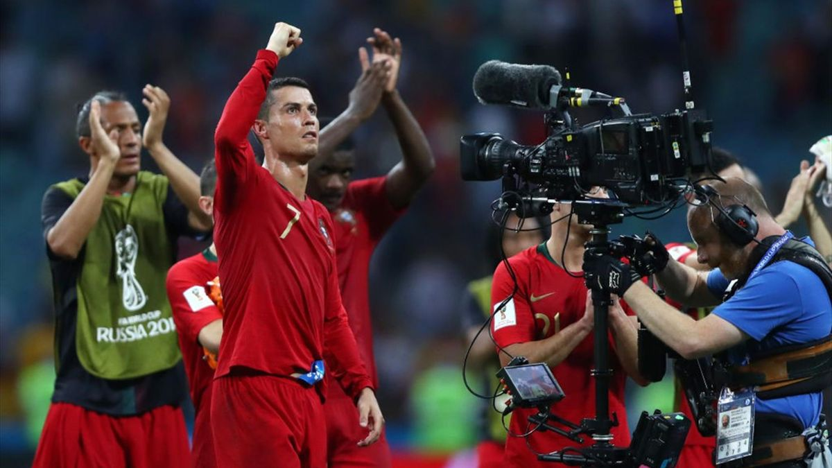 Cristiano Ronaldo - Portugal-Spain - Russia 2018 World Cup Group B - Getty Images