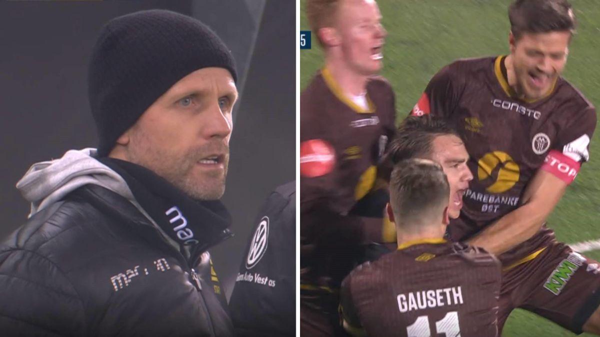 Start-trener Joey Harðarson fikk se en skrekkomgang mot Vålerenga, mens Mjøndalen kunne juble