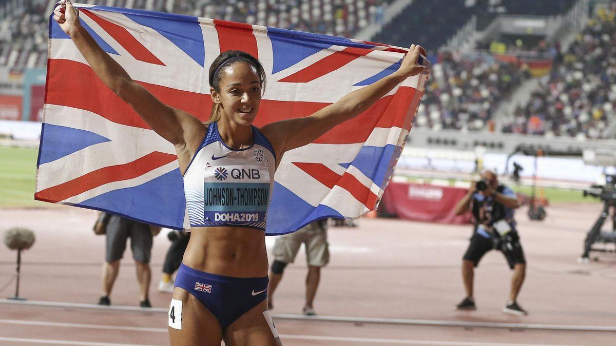 Katarina Johnson-Thompson clinched gold at the World Championships