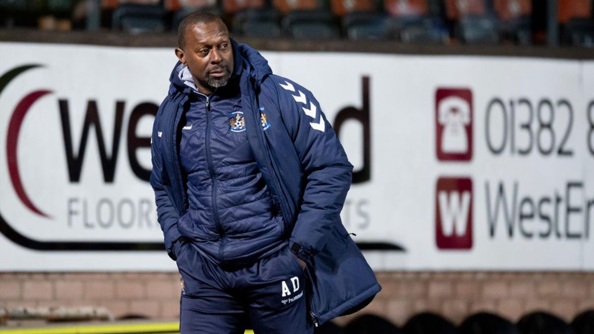 Alex Dyer is the only black manager in the Scottish Premiership