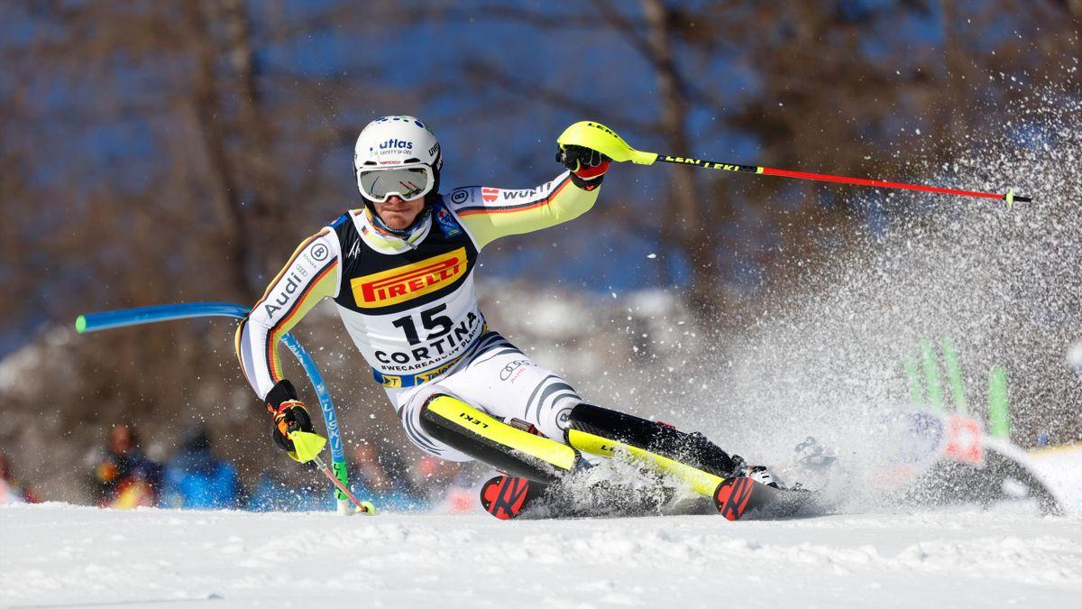 Linus Straßer in Cortina d'Ampezzo