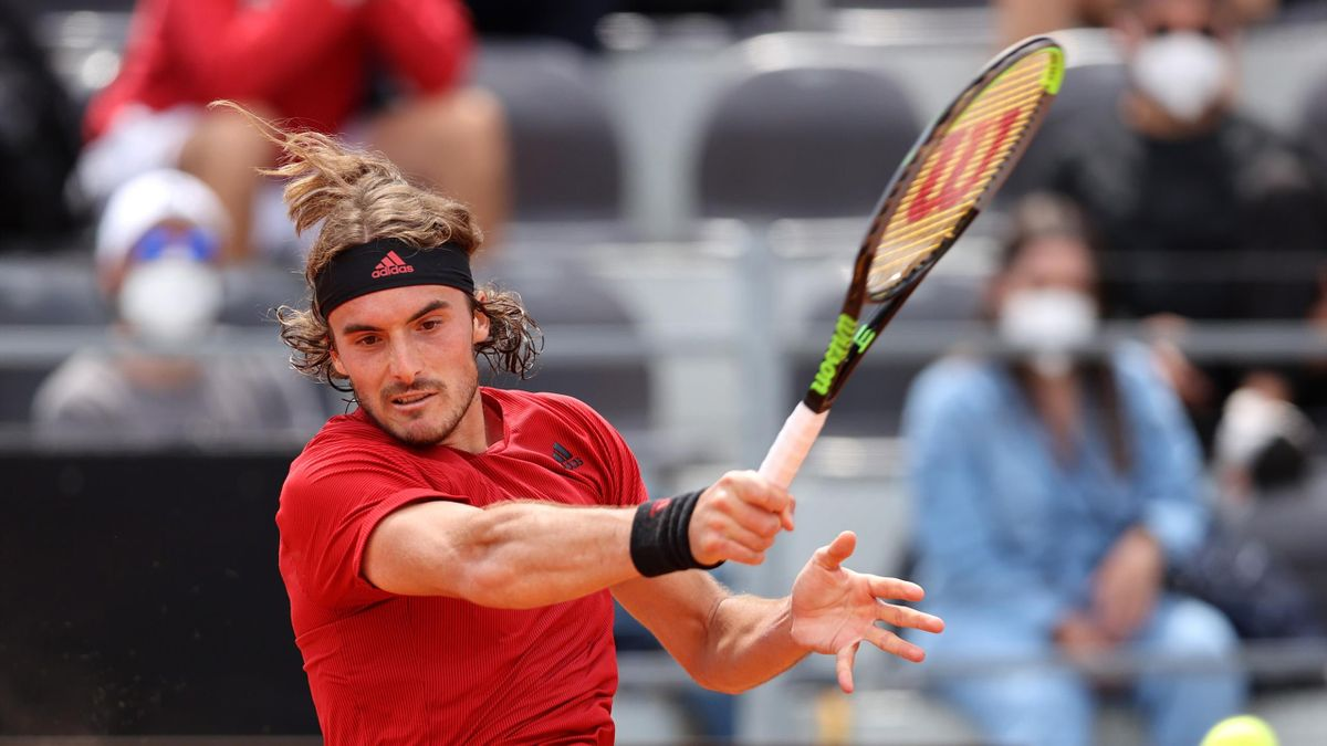 Stefanos Tsitsipas beim ATP Masters in Rom