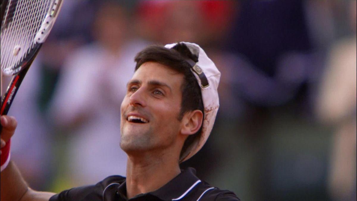 French Open Match Point : Djokovic v Verdasco