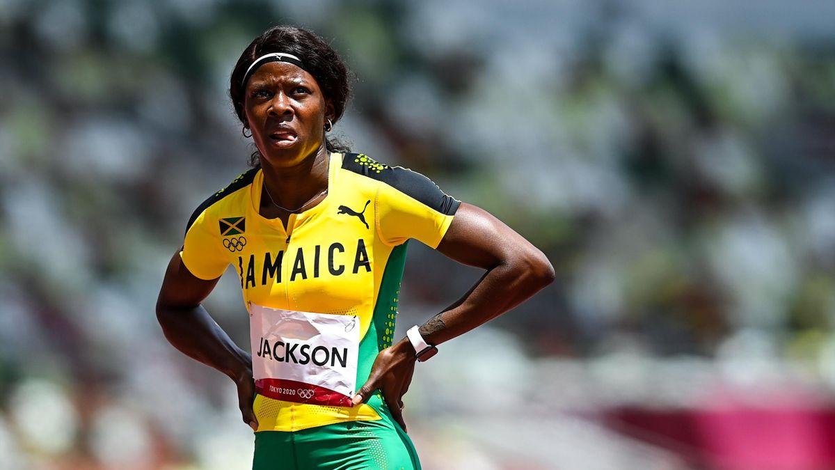 'She looks unconcerned but…' - 100m bronze medallist Jackson out of 200m after big error