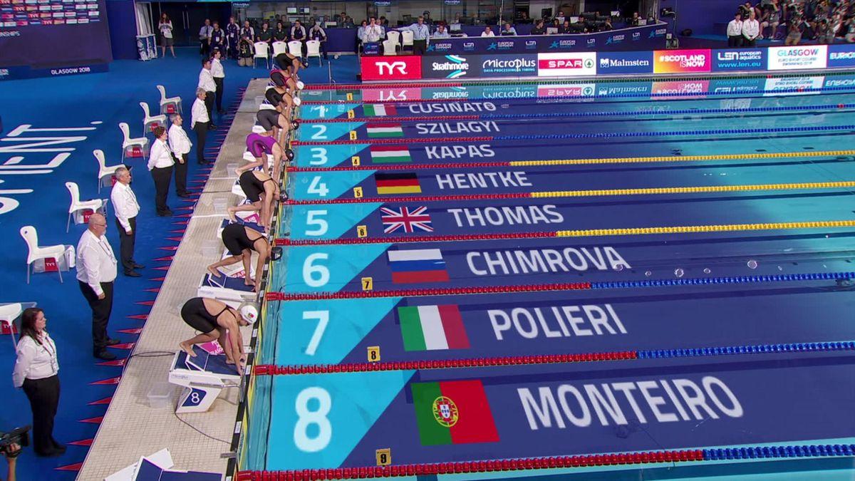 European Championship : final 200m butterfly women