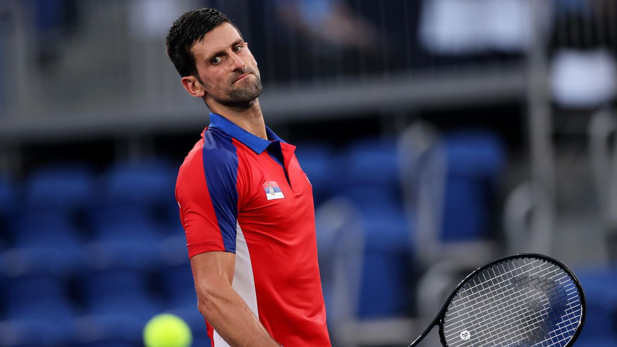 Novak Djokovic hat in Tokio gleich zwei olympische Halbfinals an einem Tag verloren