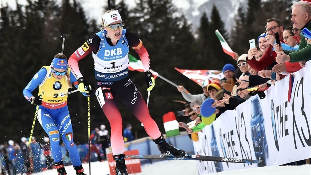 Biathlon Antholz : Highlights Women Mass Start12,5km