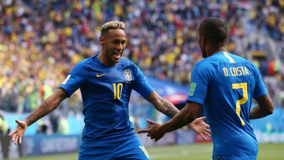 Neymar; Douglas Costa