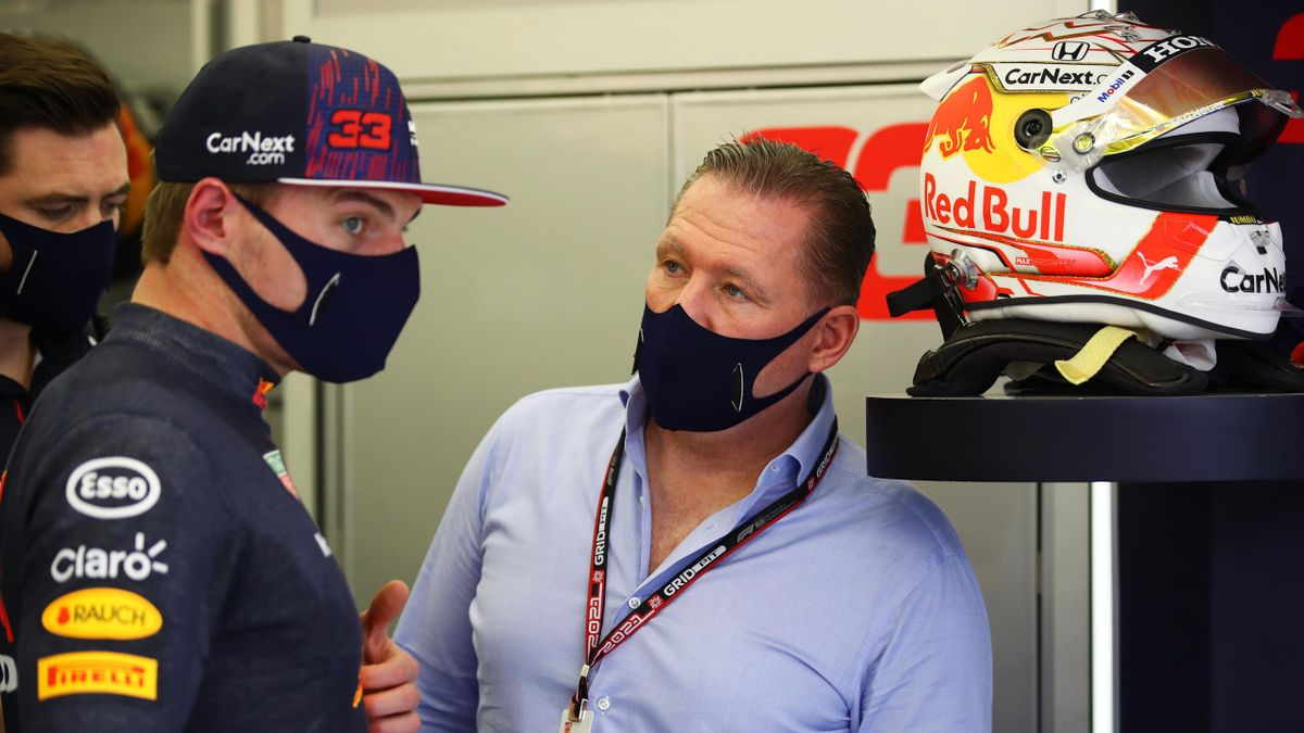 Red-Bull-Star Max Verstappen (links) mit Vater Jos