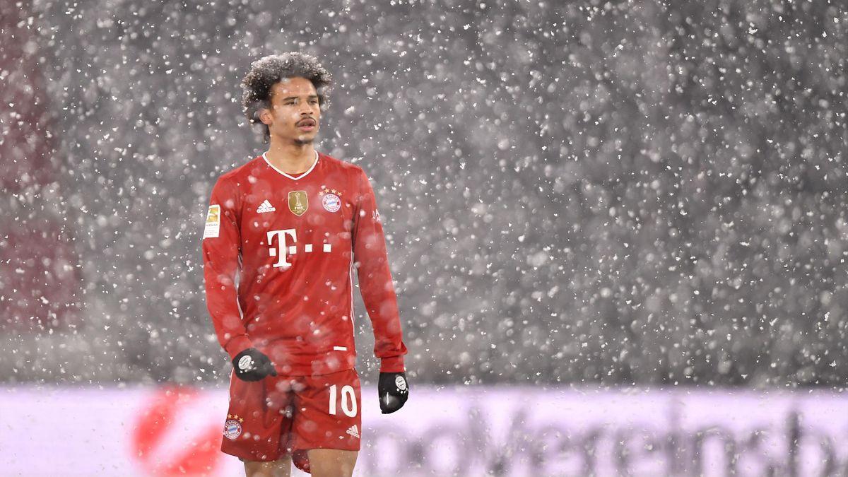 Leroy Sane | Bayern v Bielefeld