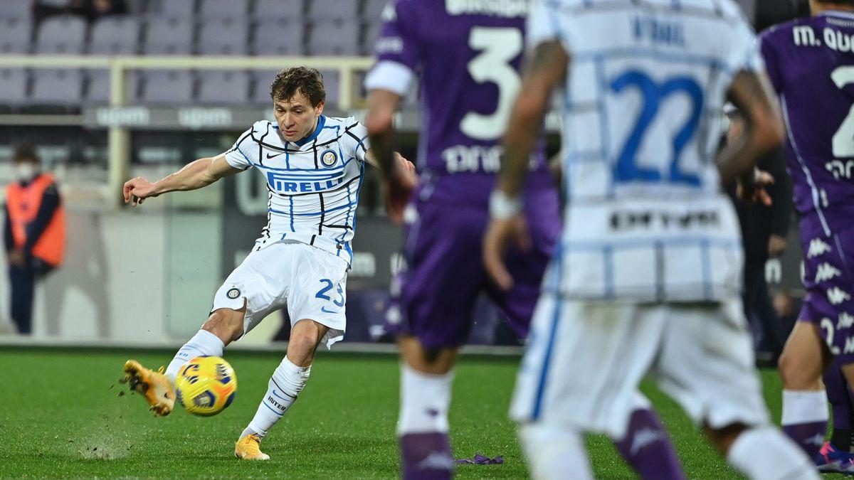Nicolò Barella, Fiorentina-Inter