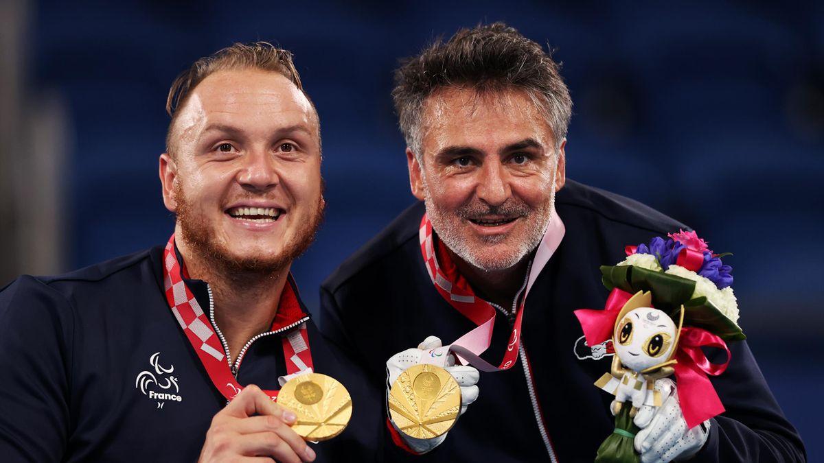 Stéphane Houdet et Nicolas Peifer médaillés d'or en tennis fauteuil à Tokyo