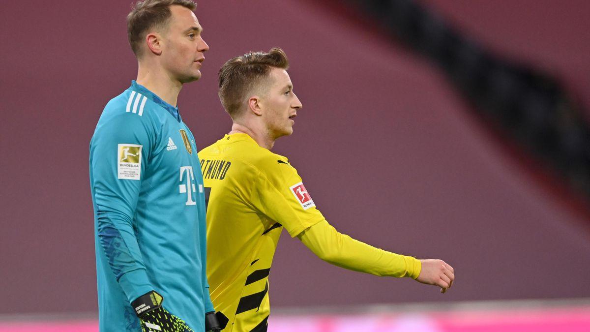 Manuel Neuer und Marco Reus
