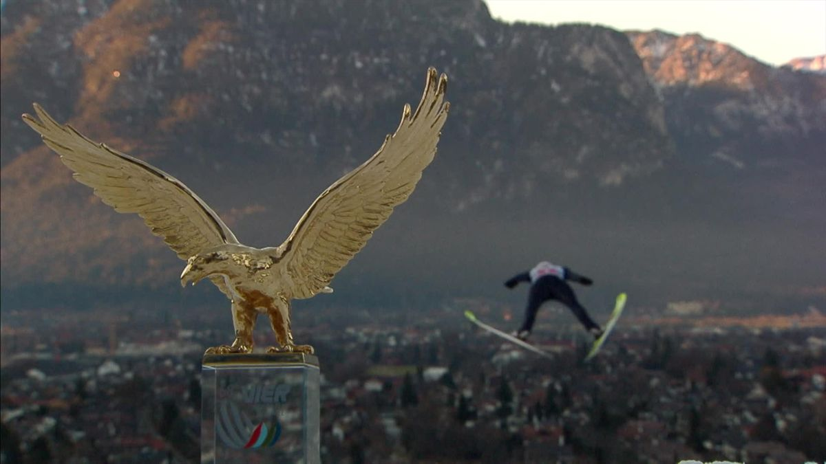 Garmisch : Four Hills - Geiger's jump