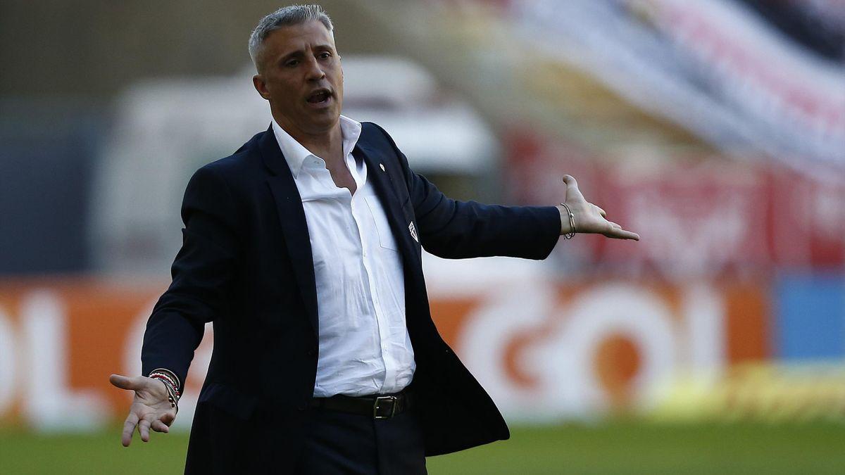 Hernan Crespo a été limogé de son poste d'entraîneur du Sao Paulo FC