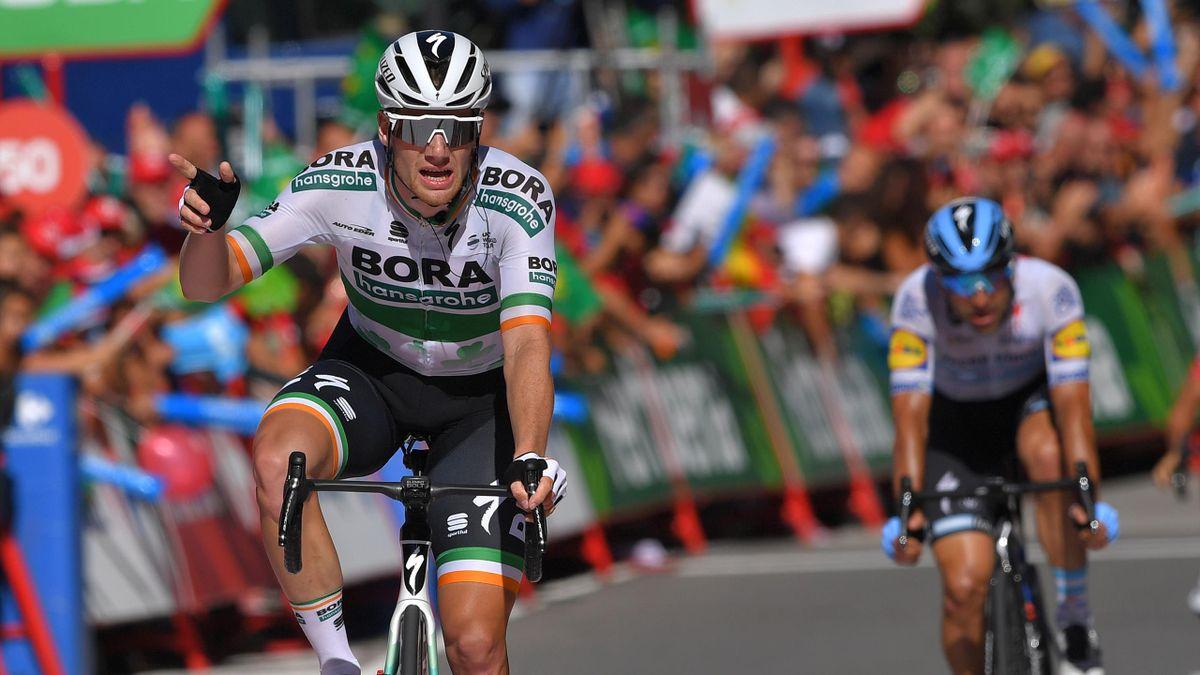 Sam Bennett of Ireland and Team Bora-Hansgrohe