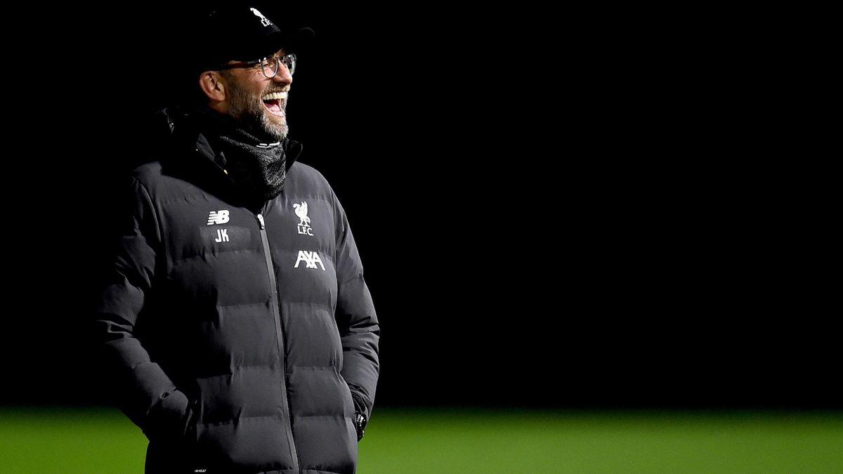 Jürgen Klopp vor dem Spiel gegen Tottenham