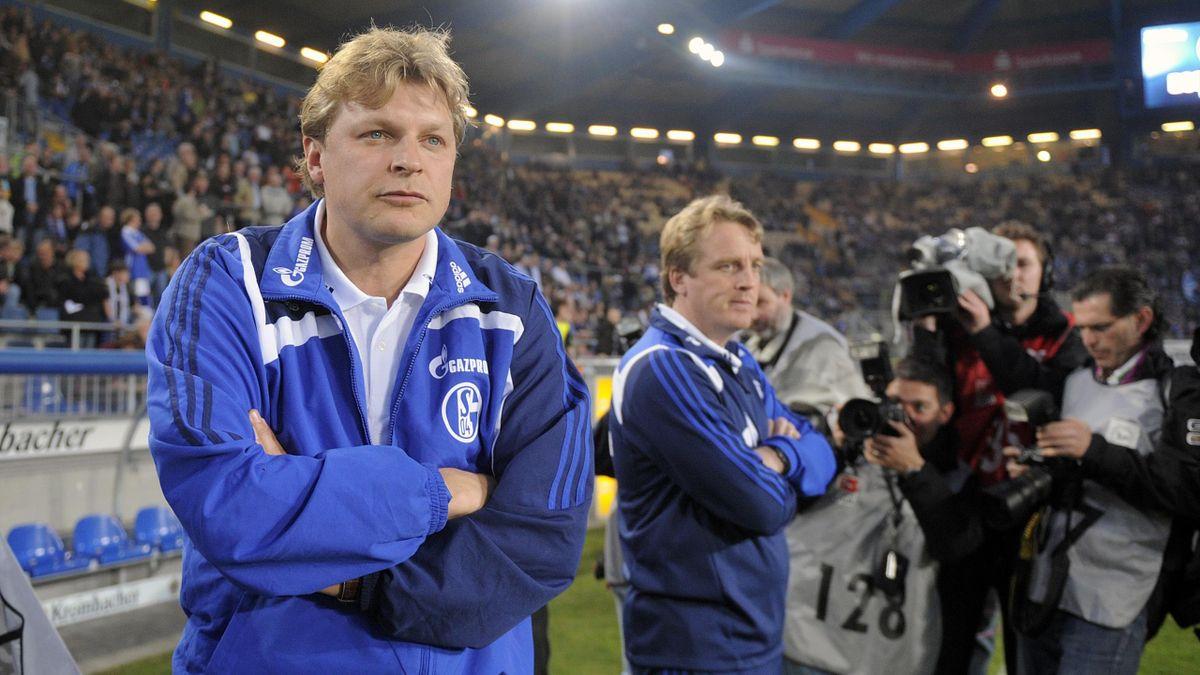 Youri Mulder (l.) ist neues Mitglied im Schalker Aufsichtsrat