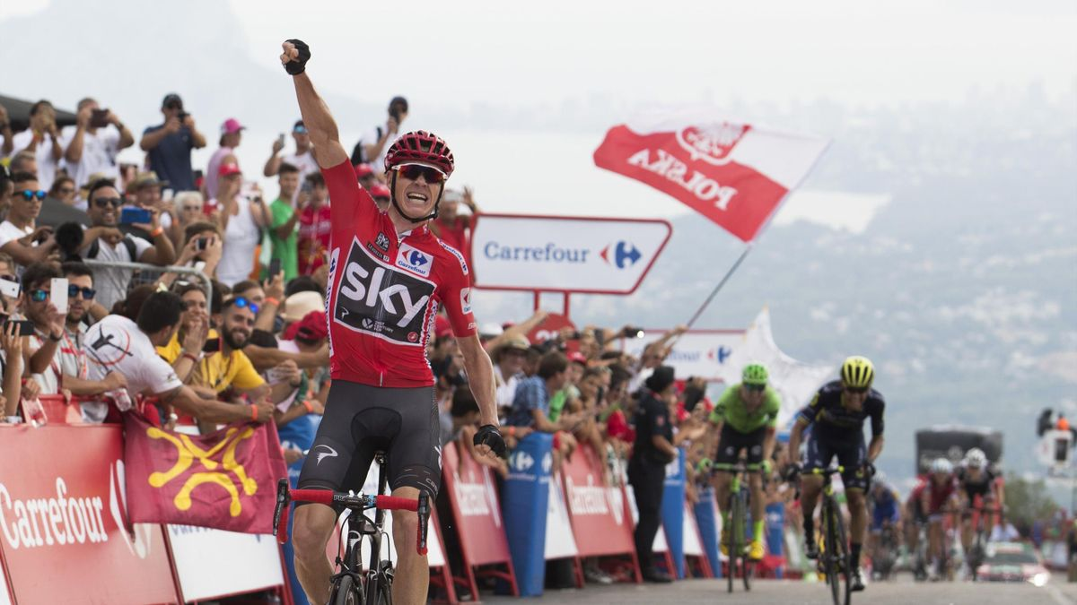 La Vuelta 2017 Imperious Chris Froome Storms To Victory On Stage 9 Eurosport