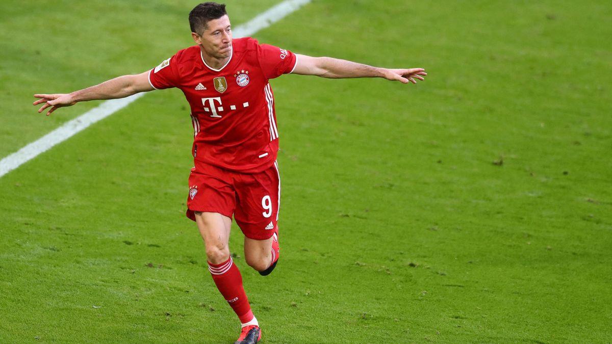 Robert Lewandowski - FC Bayern München vs. Borussia Mönchengladbach