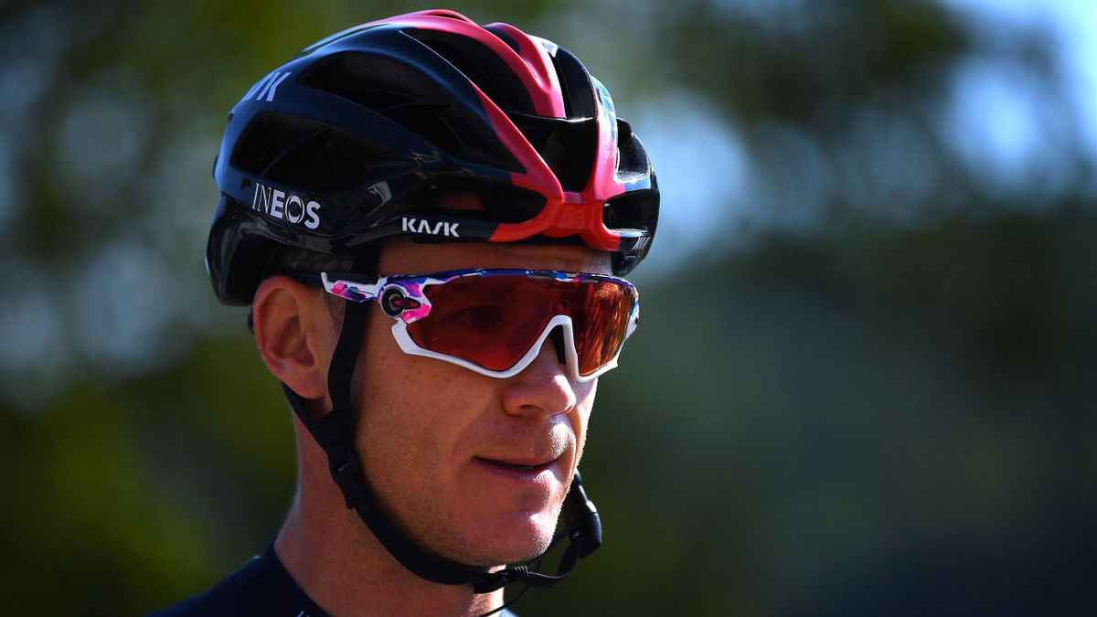Chris Froome of The United Kingdom and Team INEOS Grenadiers