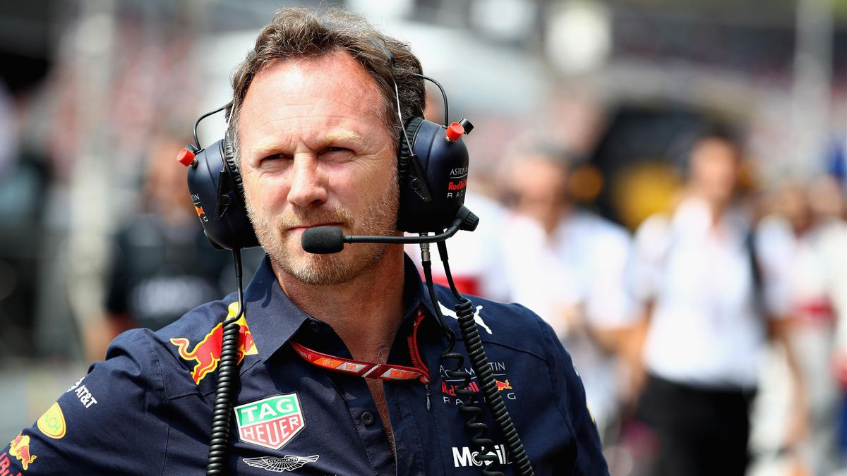 Christian Horner (Red Bull) au Grand Prix de Hongrie 2018