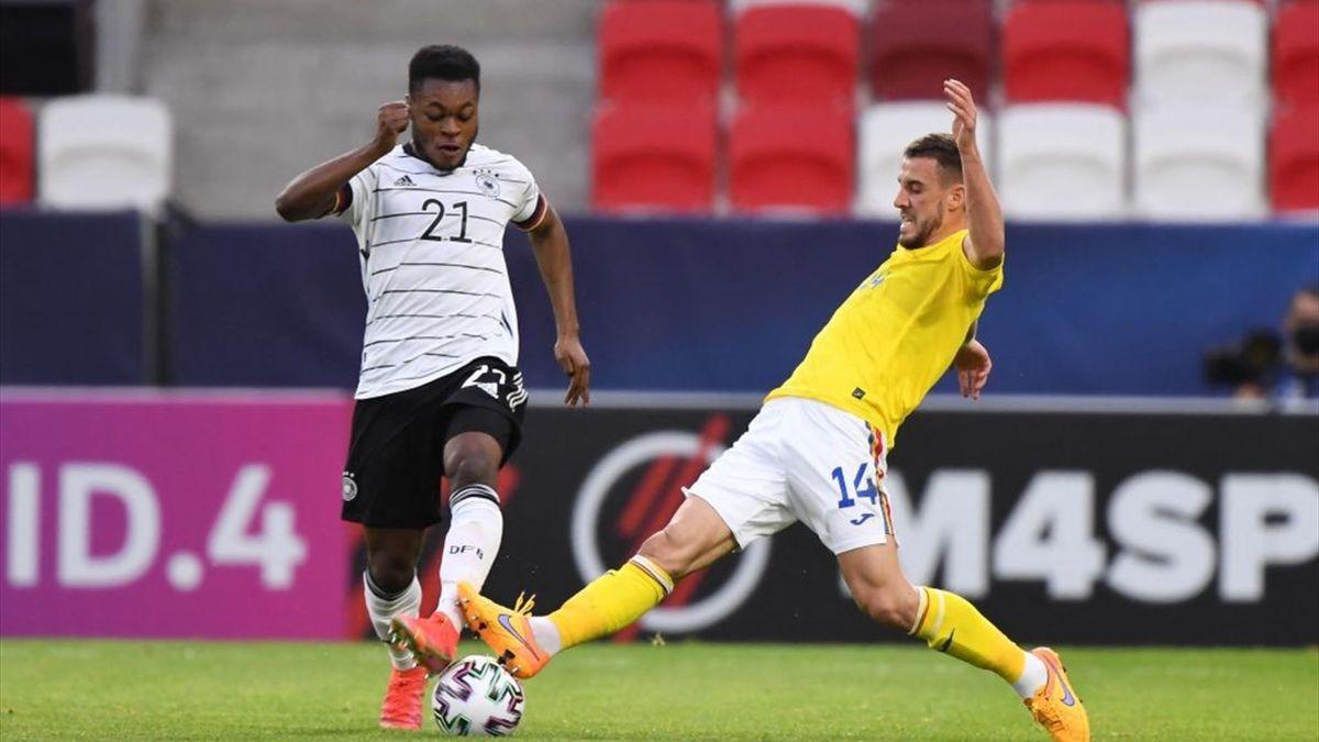 Ridle Baku im Spiel der deutschen U21 gegen Rumänien
