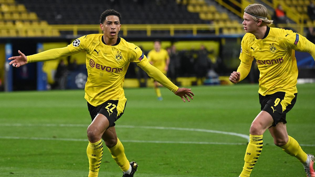 Jude Bellingham (links) und Erling Haaland - Borussia Dortmund