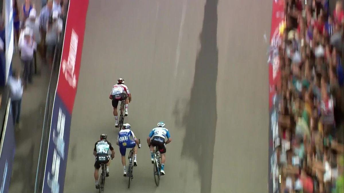 Vulta a San Juan : Fernando Gaviria wins stage 4 - Finish