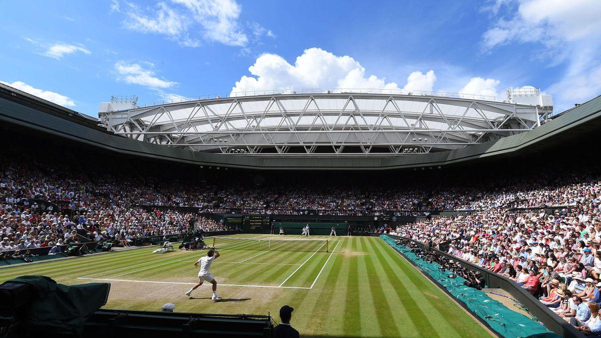 Court central de Wimbledon - 2014