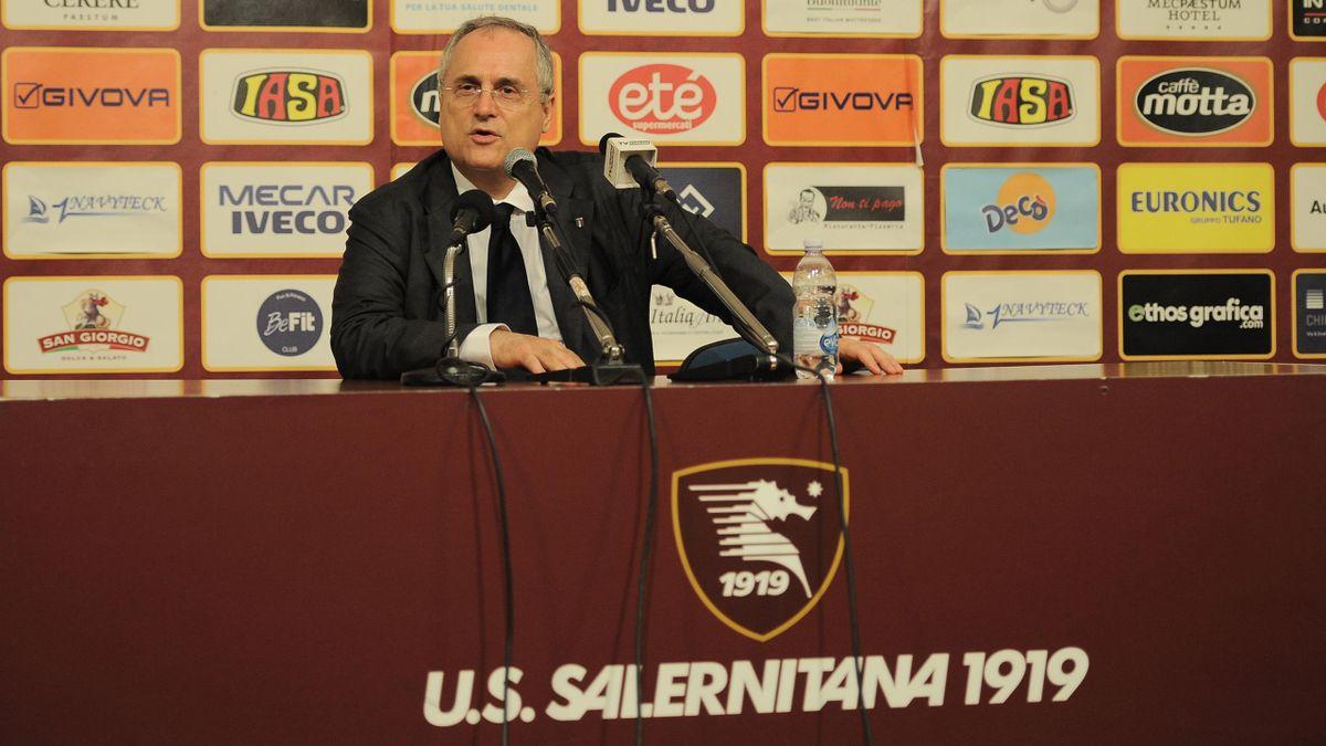 Claudio Lotito, presidente Salernitana, Getty Images