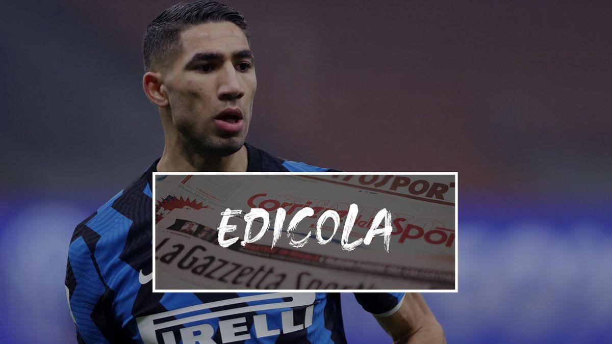 Edicola, 23 gennaio